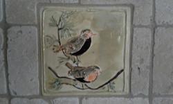 Handmade Bird tile
