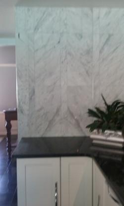 White Marble Walls