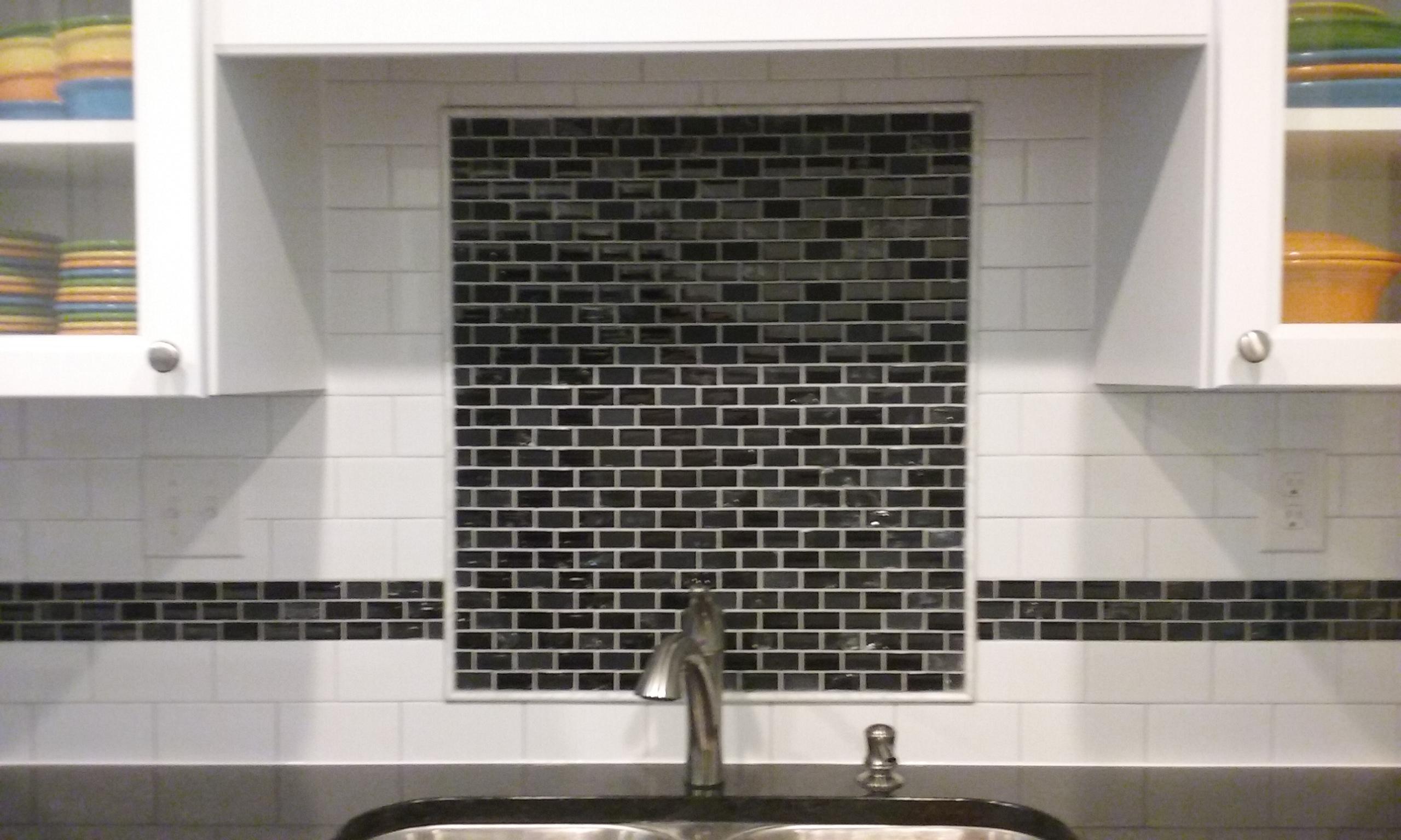 Granite Mosaic Blk & Wh