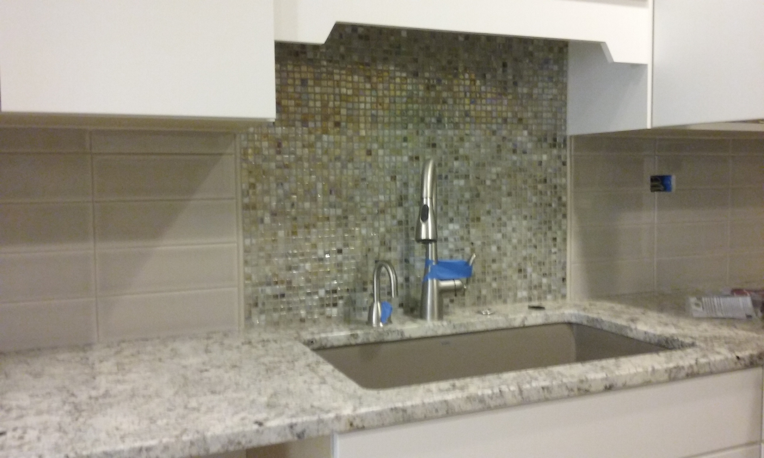 Glass & Ceramic tile mix
