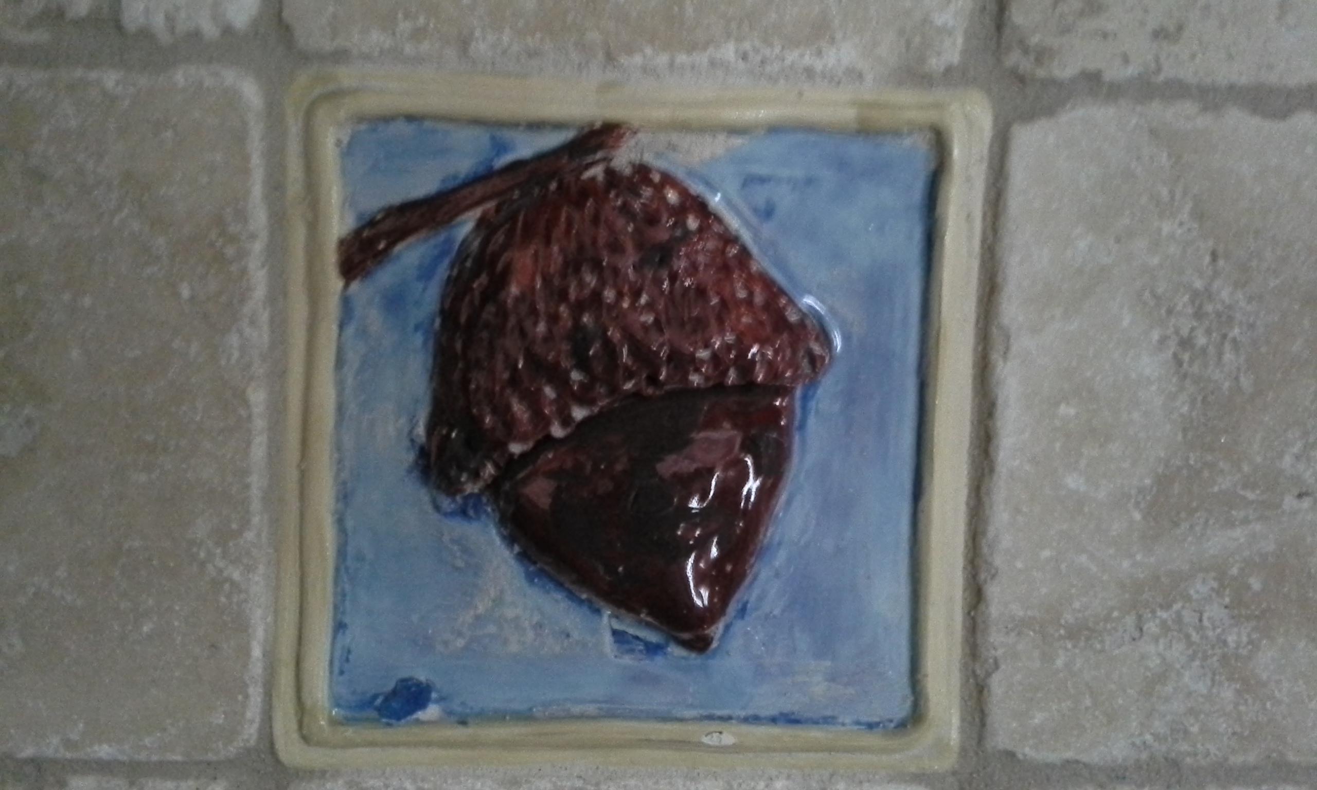 Handmade Acron tile