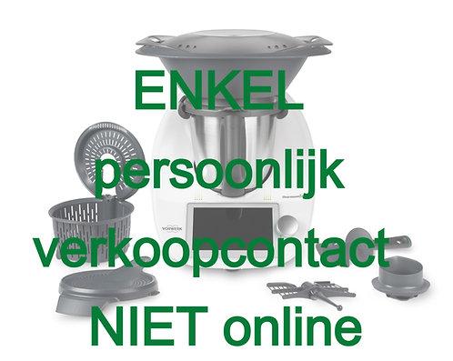 Thermomix TM6 - ENKEL via persoonlijk contact aan te kopen