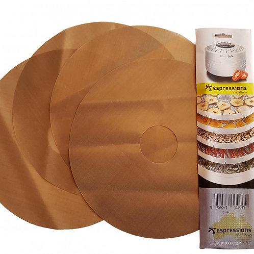 droogmatjes voor dehydrator - voedseldroger - 5 st