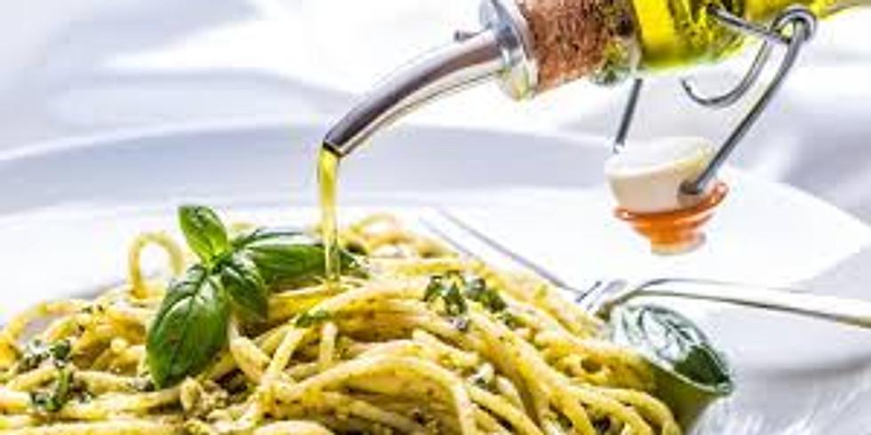 nog 2 plaatsen - Zomerse pasta's met zonnige olijfoliën - 55€