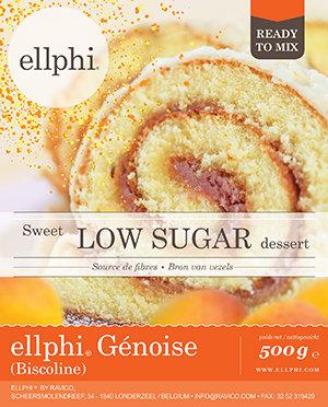 Ellphi Biscoline Génoise - 500 gr biscuit