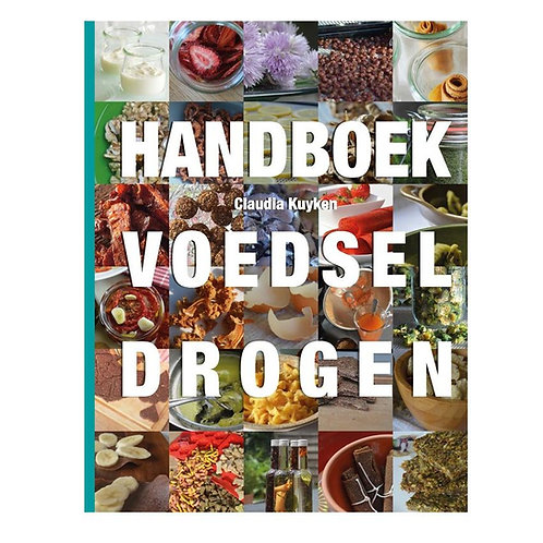 boek - Handboek Voedsel Drogen