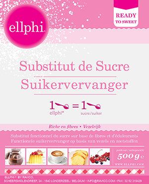 Ellphi poeder 500 gr - suikervervanger
