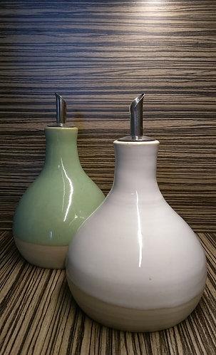 olijfolie flesje keramiek - HIB keramiek