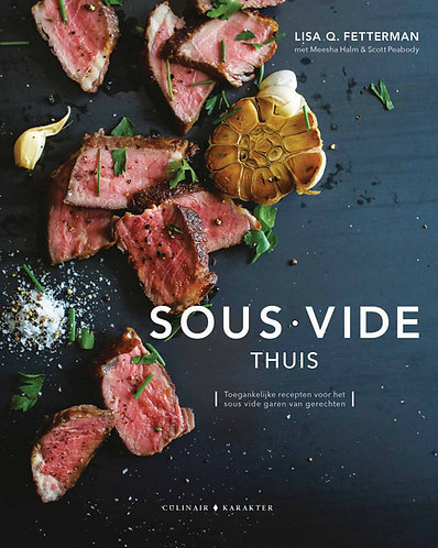 boek - SousVide - thuis