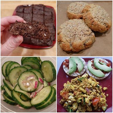 A few new recipes & why I'm eating them...