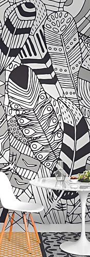 PLUMAGE Elena Salmistraro wallpaper cart