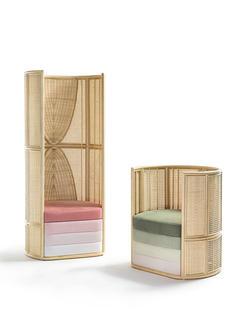 "Lisetta designed for Bottegaintreccio won the international award ""Archiproducts Awards"" 2020"