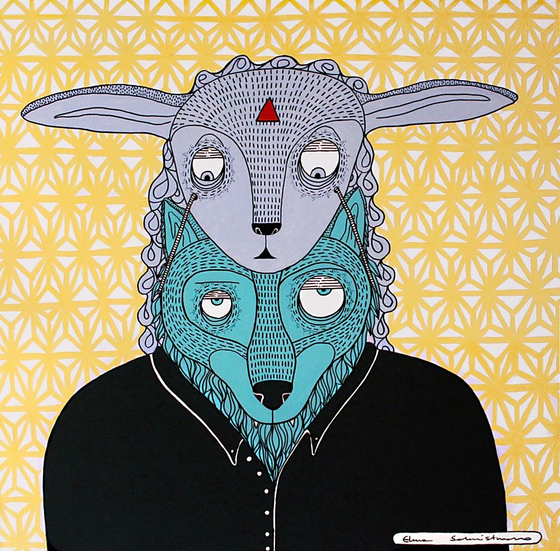 Lupo travestito da agnello - a wolf in s