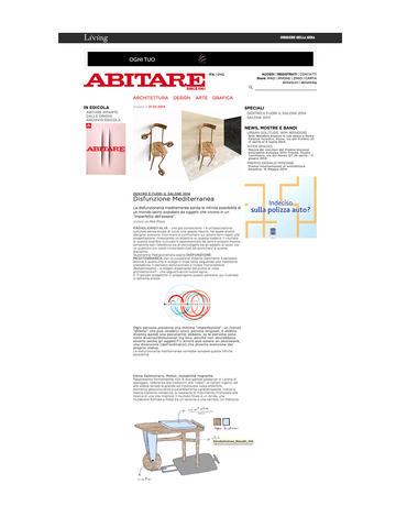 0101 Elena Salmistraro Designer Abitare.