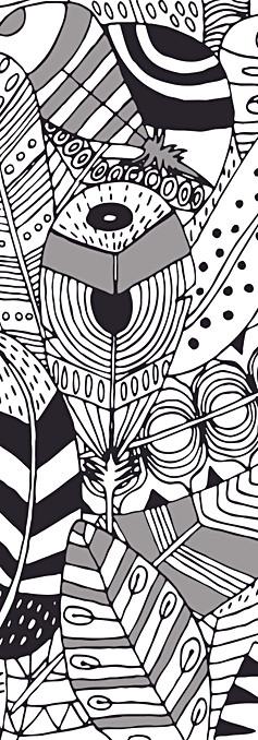Elena Salmistraro Texturae Plumage carta