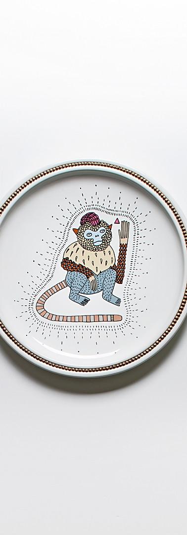Primates plates elena salmistraro cerami