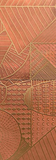 Wild geometries erosion de castelli tile