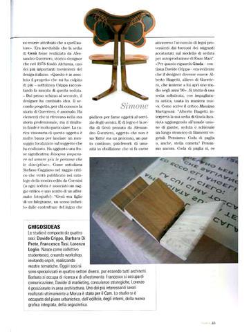 093 e Elena Salmistraro Designer Vivere.