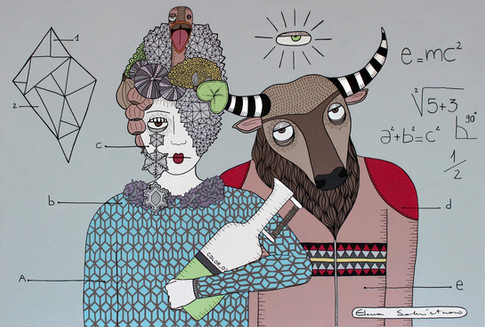 THE VISIONARY AND THE MINOTAUR