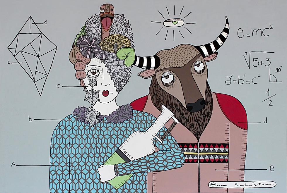 La visionaria e il minotauro - the visio