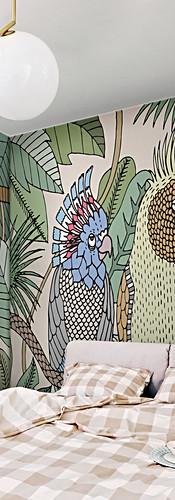 Texturae_COCKATOO_Elena Salmistraro wall