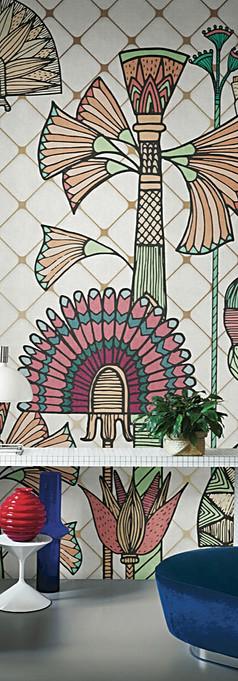 Flabelli London Art wallpaper design ele