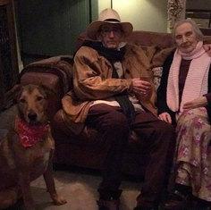 Dad & Rowan with Nana