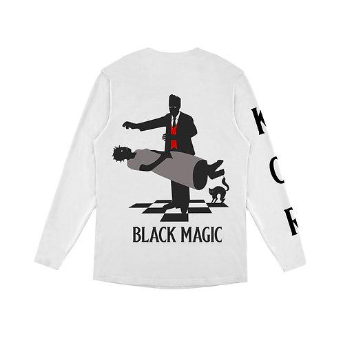 KOR BLACK MAGIC Long  Sleeve white