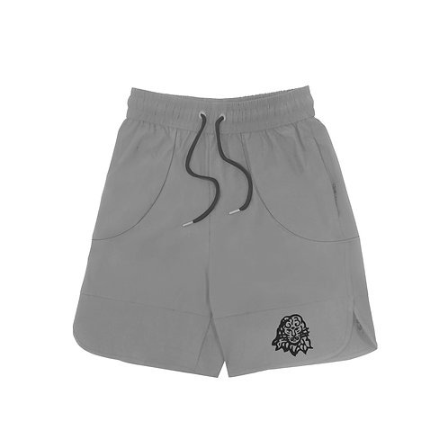 Lion Head shorts Grey