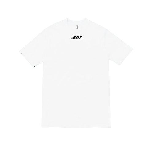 KOR Logo Tee White