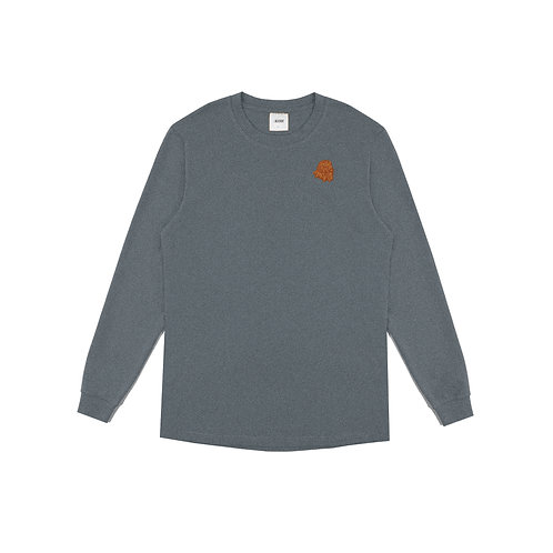 KOR Embroidered Long Sleeve Grey