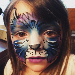 Instagram - #kitty #kittyfacepaint #epicbodypaintATX #epic #Austin #Facepaint