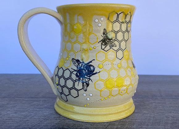 Bee mug #5