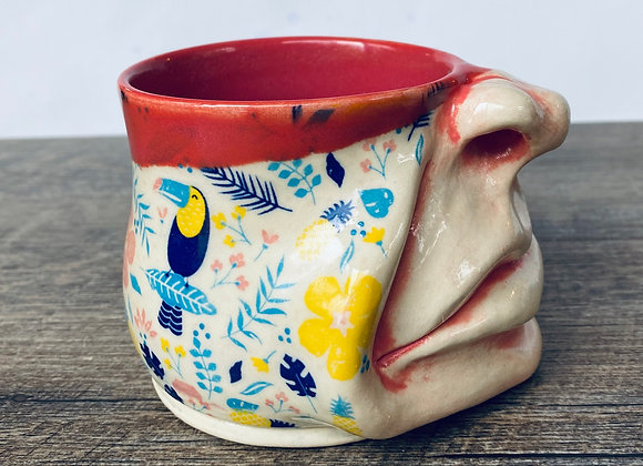 Face mug tropical paradise