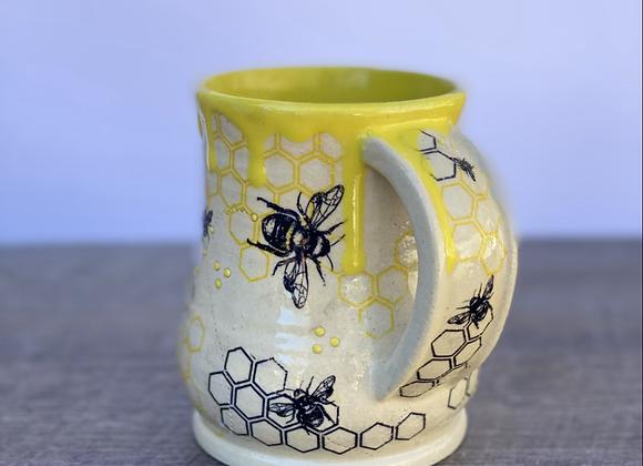 Bee mug #9