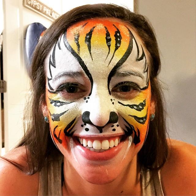 Instagram - #tiger #Facepaint #Austin #epicbodypaintatx #epic #classictiger #saf