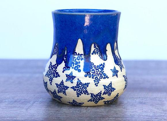 Cheetah star vase