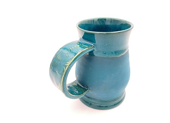 Turquoise mug 10oz
