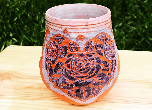 Heart rose cup