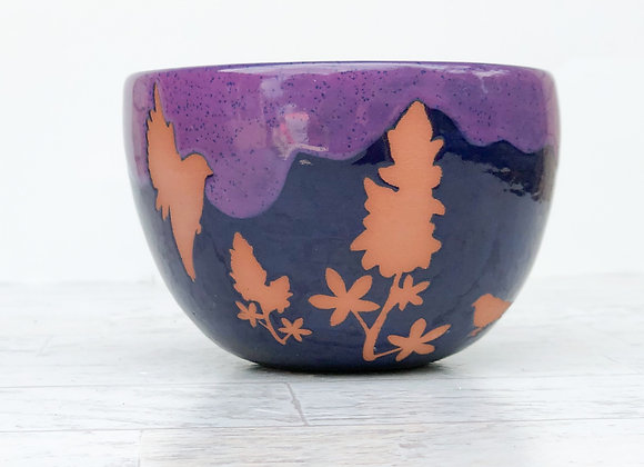 Bluebonnets and birds bowl