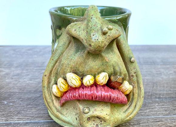 Ogre face mug