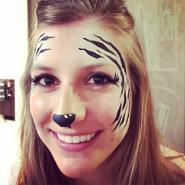 Instagram - #glamzebra #facepainter #epicbodypaintATX #epic #Austin #Safariparty