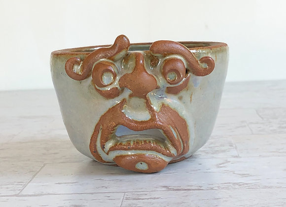 Face Bowl high fire stoneware