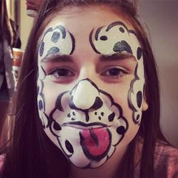 Instagram - #Facepaint #Austin #epicbodypaintATX #epic #puppy dog #puppydogfacep