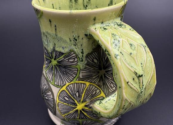 Lemon lime mug 14oz