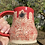 Thumbnail: Red spiderweb with red glaze mug