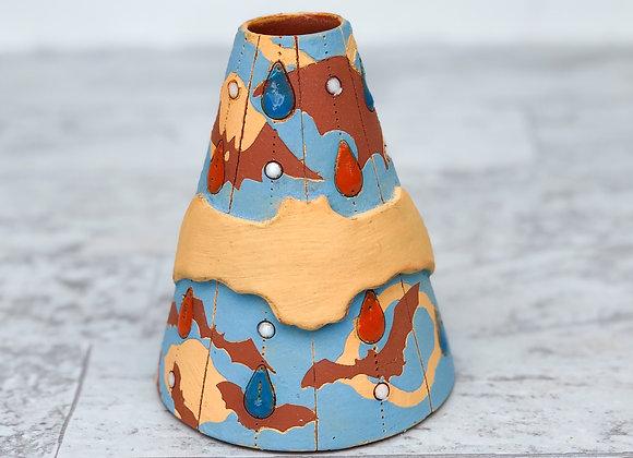 Batty Drippy Vase