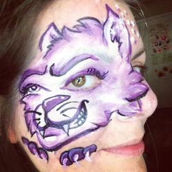 Instagram - #cartooncatfacepaint #epic #epicbodypaintATX #Austin #facepainter #f