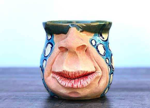 Bubbles face mug