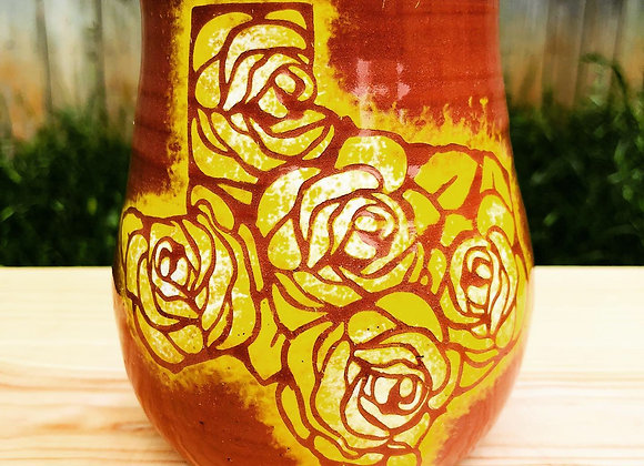 Yellow Texas Rose cup
